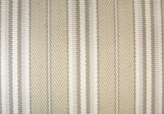CLARENCE STRIPE - C17 WHITEWASH CARPET