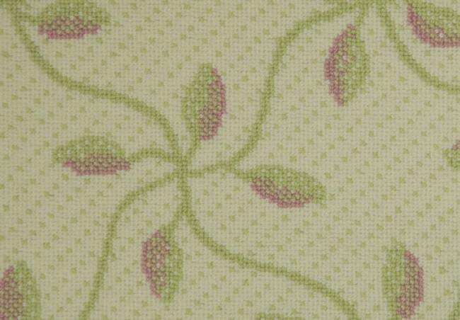 MILKWEED - CORAL / GREEN / WHITE